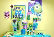 Monsters University Candy Buffet