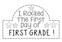 1st Grade Beginning of the Year