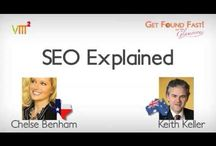 "SEO EXPLAINED  / SOME SAMPLE ""HOW TO"" VIDEOS HERE #SEO #HowTo #Videos  #GetFoundFast  @ChelseBenham @KeithKeller @GetFound_TV"