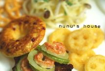 Nunu's house * miniature meals *