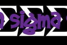 Tri Sigma / by Andrea Eymard
