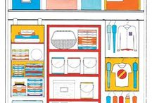Organization / Space saving storage ideas / by Connie Leathers