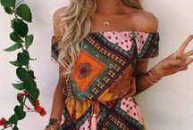 Bohemian clothes