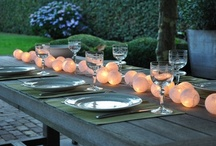 Dining table settings