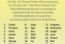 Disney Photo/ Trip Bucket List / by Rita Matos