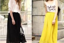Skirts&T-shirts