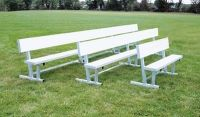Benches and Bleachers / Beacon athletics has a variety of these products for any baseball or softball needs