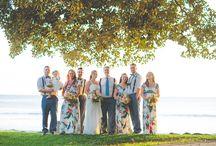 Maui Bridesmaids Dresses / Maui Bridesmaids Dress Inspiration - Island Wedding Bridemaids ideas