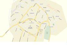 SİVRİHİSAR HARİTASI. / Bu Panoda Sivrihisarın Mahallelerinin Haritasını Ekleyeceğim.