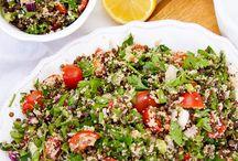 Vegan Salad & Dressings