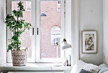 Bedroom window decor