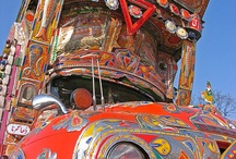 Truck Art / I admire this amazing art form from Pakistan. So much beauty and detail. / by Kristy HennaTrails