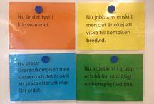 Ordning i klassrummet