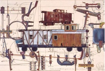 Trains/Plains/Ships  / by Mike Friedhaber