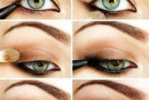 Eyes, lips and nails