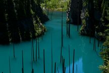 Warm Glass Waterfalls Lakes