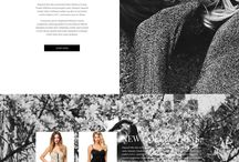 Black & White / Inspiration for black and white design