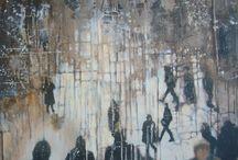cityscape oil painting adrienne silva