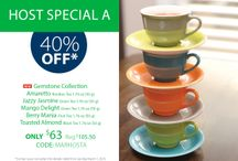 March Specials / Host a Steeped Tea Party this month for spectacular savings! / by Steeped Tea Inc
