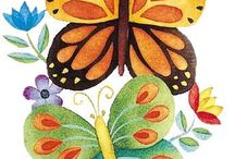 motivos mariposas