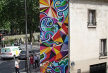 Mural Madness / Art on the giant canvas walls of the world.