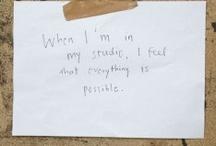 artist's statements / by Fran Ginn