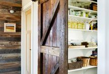 Our L.O.V.E of Doors / The more rustic, industrial, clunky and chunky they are the better.