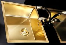 Alveus Gold Sinks & Taps
