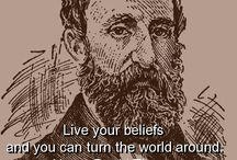 Quotes ~ Henry David Thoreau
