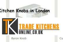 Kitchen Knobs in London / The kitchen knobs are available in different shapes including; square, round and ball. Also, different finishes in which the same are presented are stainless steel, brass and chrome.