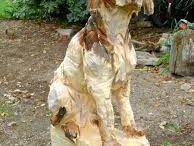 träskulpturer
