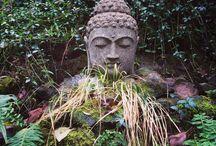 Bridal Veil Lodge garden / Gardens