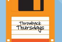 #ThrowbackThursdays / Throwback images