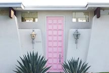 Doors of Palm Springs / Palm Springs is loaded with architecturally interesting doors.  Here are some to explore and find on your next visit.