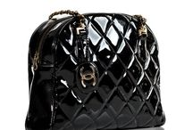 Chanel / More on the Luscious website, including http://mylusciouslife.com/lust-have-chanel-vintage-black-patent-leather-shoulder-tote-bag/