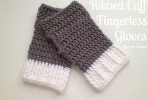 crochet gloves-mitten