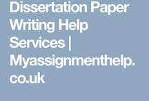 Dissertation Writng Help
