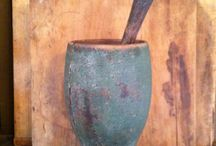 Primitive Mortar/Pestle and Mashers / by Lisa Davis