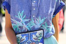 Togetherness - Trends Spring/Summer 2015 / Trends spring summer 2015 - Simpel, puur, eerlijk, natuurlijke imperfecties. Natuurtinten, groenen met zandtonen, roze, blauwen, natuur geïnspireerde dessins; bloemen, planten, jungleprints. Linnen, brei en jerseys, vlechtwerk.