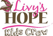 Livy's Hope Kids Crew / The Kids Crew is a group of kids that do good things for children with medical needs and their families. They help places like childrens' hospitals, the Ronald McDonald House and more. Hailey and Livy have learned a great deal about giving back and they would like to share that with other kids who also want to help make a difference. #CarryOnParents