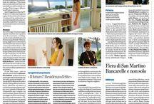 Parlano di theWProject / La Provincia di Como #post about our #photoshoot at #villaleoni #design #architecture #italian #excellence #melaniafumiko #d'asymilano