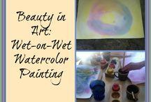 {Art} / ideas for teaching art to elementary school students