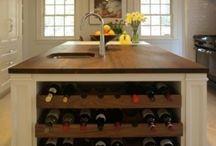 55 Kücheninseln Mit Einem Weinregal