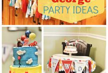 Selah's 2nd Curious George Party / by Becca Dickson