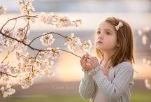 photos children blossoming