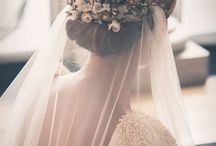 Veiled Beauties / Thinking of wearing a veil when you get married, find some inspiration here!