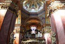 Castles,churches, cathedrals- hrady, zámky, kostoly, katedrály