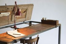 A desk for writing