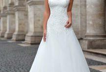 Svatební šaty,kytice a nápady