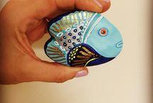 Камни рыбы